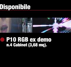 Offerte LEDScreen usati, schermi a led d' occasione, schermi giganti a LED